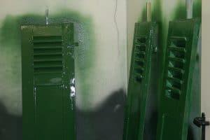 Lackierung Schlagläden Fensterläden