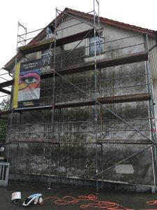 Fassadensanierung Gevelsberg Schimmelentfernung Mikrobiozid