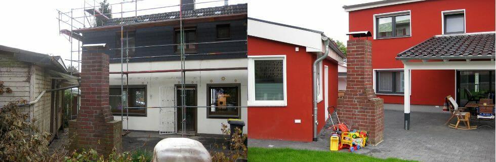 Fassadensanierung, Fassadenrenovierung