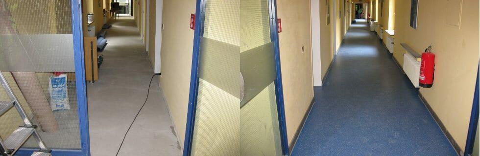 Treppenhaus, Flur, Sanierung, Renovierung