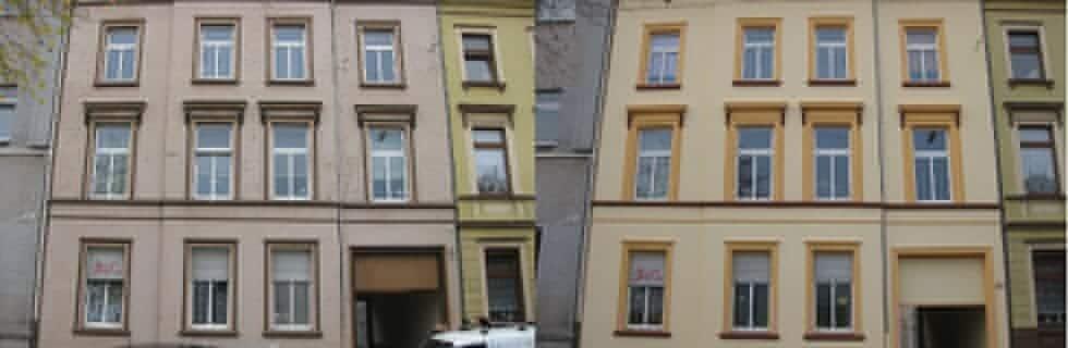Fassadensanierung, Fassadenrenovierung, Altbaufassade Renovierung