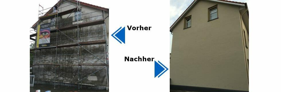 Schimmelsanierung Fassaden