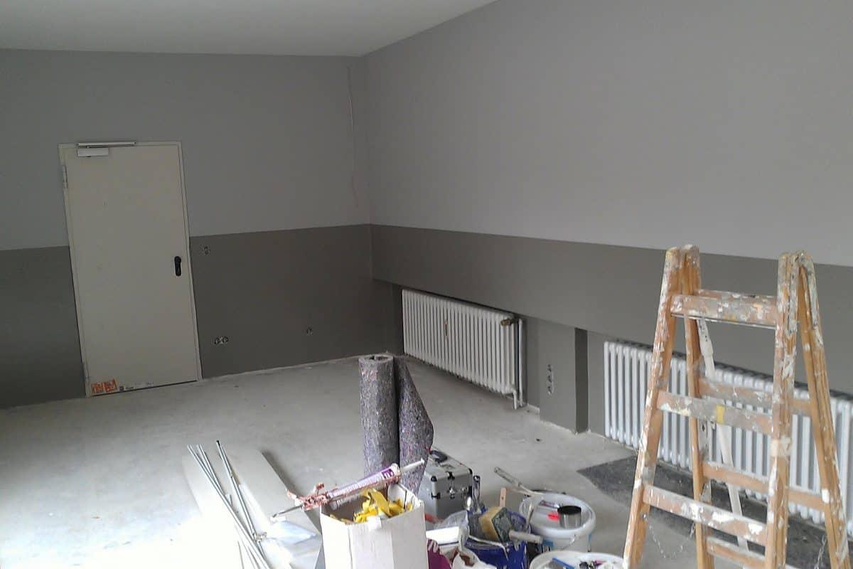 Malerarbeiten Räume