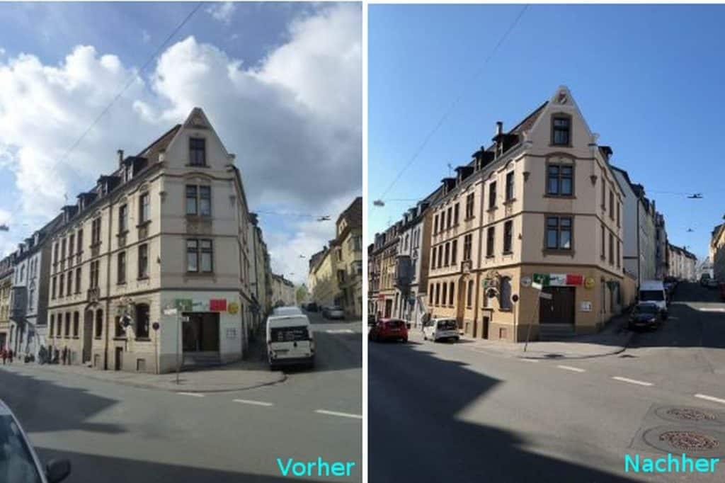 Fassadenrenovierung Denkmalschutz